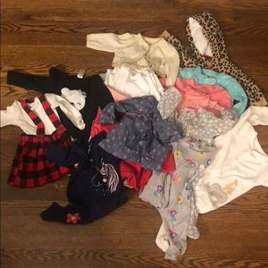 Carter Bundle Clothing (29 pieces) Size 3-9 months